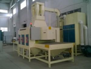 苏州新区化工节能设备厂在我公司订购一台钛网、钛板专用自动喷砂机