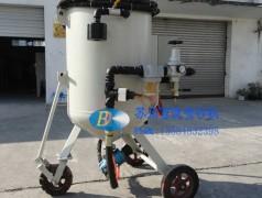 4720P高压移动式手动喷砂机